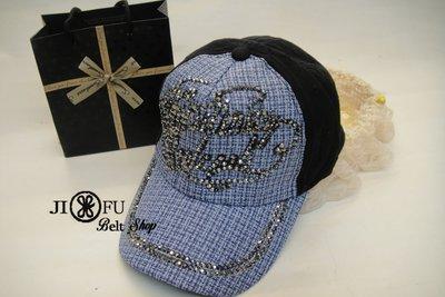 現貨供應*JIFU 鉅釜皮件*帽子*棒球帽 潮帽(藍色 )(W127)