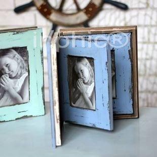 INPHIC-實木復古仿舊影集四款 相框相冊美式鄉村 收納櫃木盒 裝飾擺飾