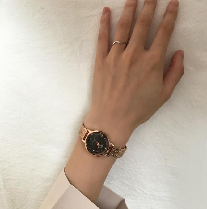 YEAHSHOP 手錶女CH手表女復古小表盤Y185