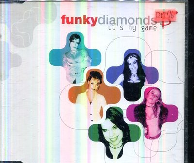 *還有唱片四館* FUNKY DIAMONDS / IT'S MY GAME 二手 D1776