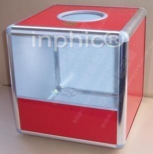 INPHIC-商用 營業 不鏽鋼邊高檔無字抽獎箱 摸彩箱
