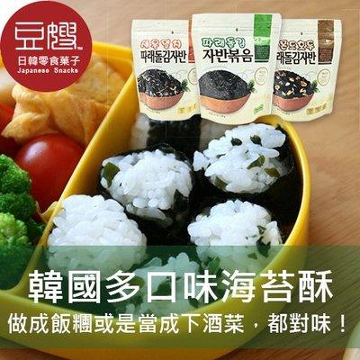 【豆嫂】韓國零食 多口味酥脆海苔酥(40g)