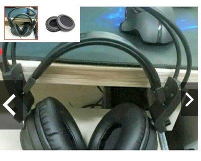 一對價)可用於 MSI 微星 DS502 DS501 用的 耳機套  海綿套 蛋白皮套 耳罩(蛋白皮)