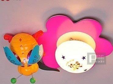 {美學}兒童臥室燈動物卡通吸頂燈具兒童房間燈書房燈飾725MX-2063