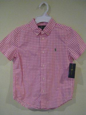 Ralph Lauren 男童襯衫 ( 7歲尺寸 )