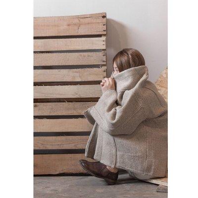 *菇涼家*三温暖纯色無扣和風開衫保暖毛衣超值外套