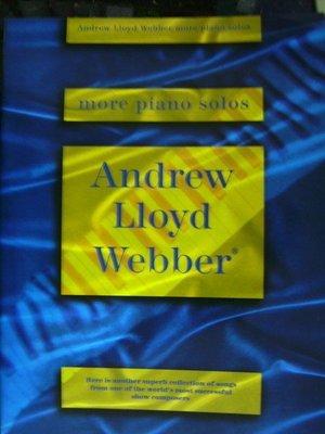 ╰☆美弦樂器☆╯Andrew Lioyd Webber more piano solos