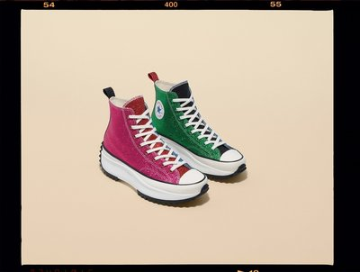 (A.B.E)JW Anderson X Converse 匡威 Run Star Hike 'Glitter 164842C 聯名 男女潮鞋