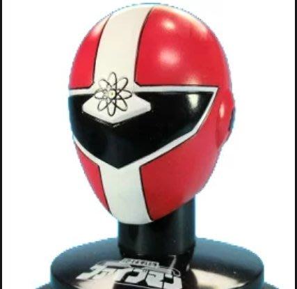 外E : SUPER SQUADRON 超級戰隊 頭像系列II 紅的傳說 地球戰隊 五紅  天富玩具店
