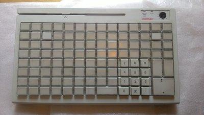 POSIFLEX KB-3100可程式化鍵盤/收銀機專用鍵盤/PS2介面/POS機鍵盤