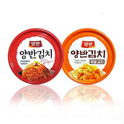 韓國Dongwon 醃泡菜 炒泡菜 韓式泡菜 罐頭 160g