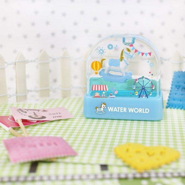 熊爸印&貼 藍殼 搖搖馬水世界印章 姓名印章 連續印章 卡通印章 彩盒印章連續印章 玩具