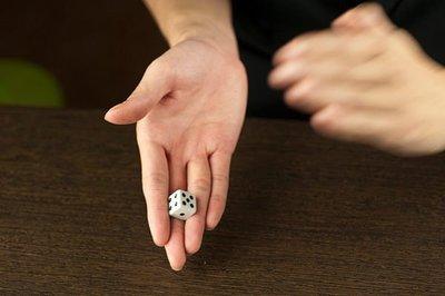 kjauction(L)凡人魔術-m10029拍扁骰,驚奇100保證60秒學會,自取只要100元