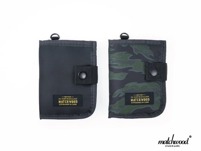 { POISON } MATCHWOOD ELEMENT COIN HOLDER WALLET 卡夾證件 零錢包 頸掛包