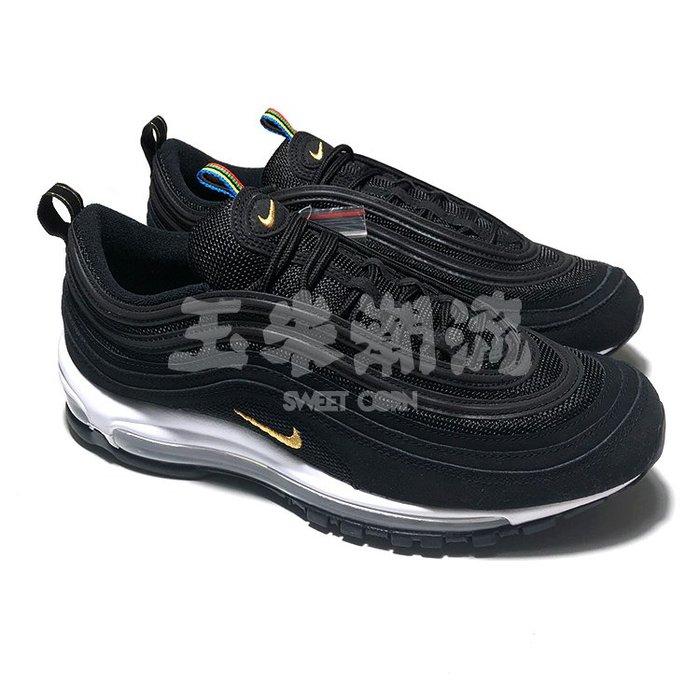 玉米潮流本舖 NIKE AIR MAX 97 QS 黑金彩虹 CI3708-001 男鞋