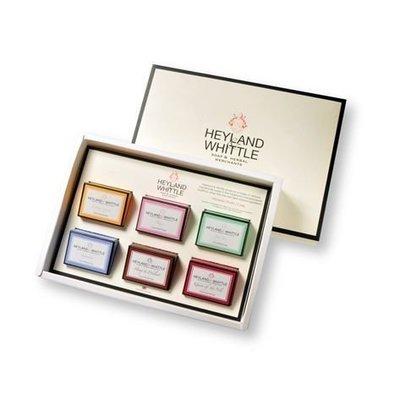 『Miss Cat 貓小姐』*【代購】☆ Heyland & Whittle 英倫薇朵 手工香皂禮盒 (45g x 6入