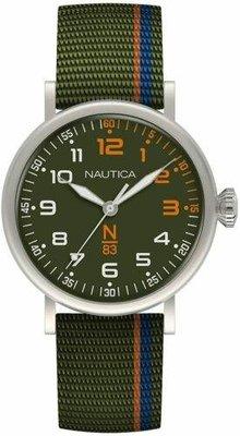 Nautica   Wakeland 40mm 綠色錶盤 中性手錶 NAPWLS909