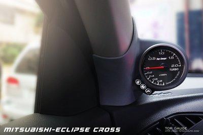 【精宇科技】Mitsubishi Eclipse Cross 三菱日蝕 專用A柱渦輪錶 隨插即用 簡單安裝 免接感應器