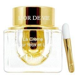 全新CD Dior迪奧L'Or de Vie生命之源金萃眼唇霜15ml 附按摩棒 保期限2020