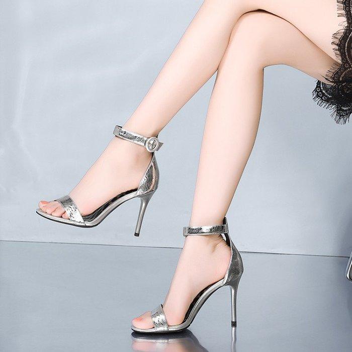 真皮女鞋 涼鞋 高跟鞋 HKA 026