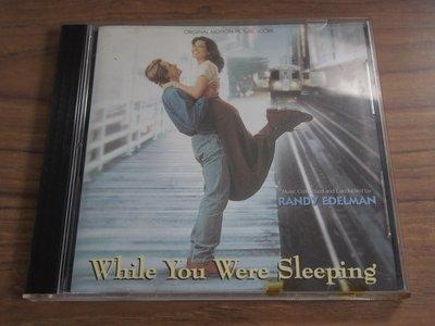 ◎MWM◎【二手CD】While You Were Sleeping 二見鍾情 電影原聲帶 片況佳無刮痕