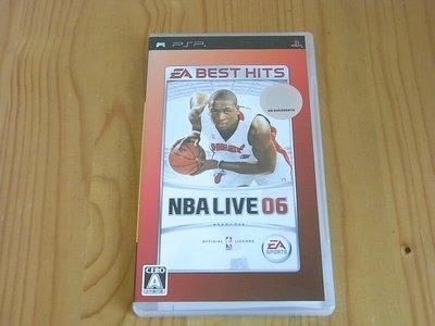 【小蕙館】PSP~ NBA LIVE 06 (純日best版)