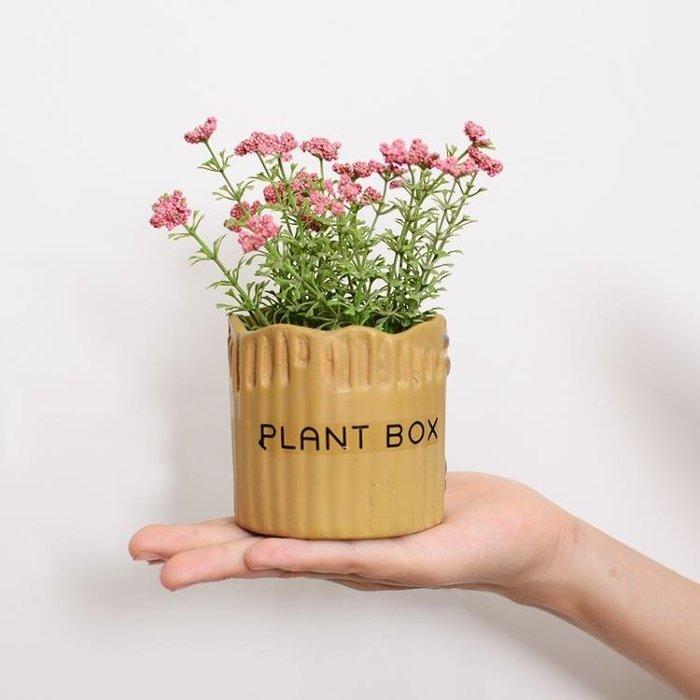 小清新仿真植物盆栽擺件多肉假花盆景家居客廳室內綠植裝飾品擺設