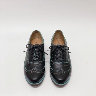 《福利品 免運直購區》【5997 黑色 22.5號(cm)】Fair Lady 學院風牛津皮鞋