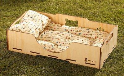【 PET BAY 】單買寢具套件組/寵物/枕頭/床墊/貓床- (白)原價600元