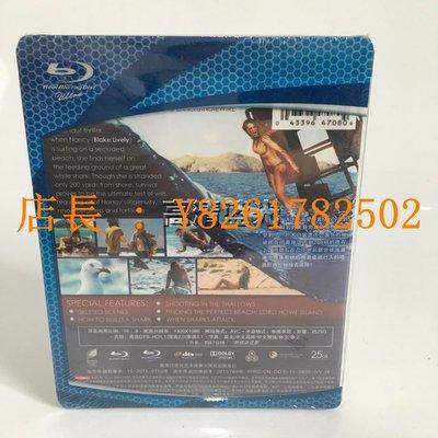 高清DVD志強店 電影藍光碟BD25鯊灘 The Shallows奪命狂鯊 / 絕鯊島高清收藏版