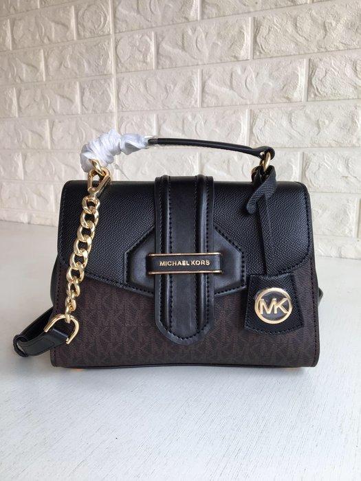 【紐約精品舖】MK女包  Michael Kors包包 小號手提包 單肩包斜跨包美國Outlet代購100%正品 附購證