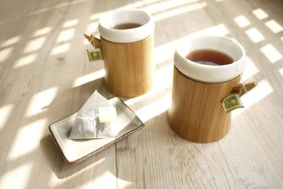 la-boos 瓷竹杯 鶯歌陶瓷和天然竹材的絕妙組合!