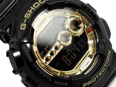 【BELLO】CASIO G-SHOCK GD-100GB 黑金配色 現貨 DAFT PUNK 代言