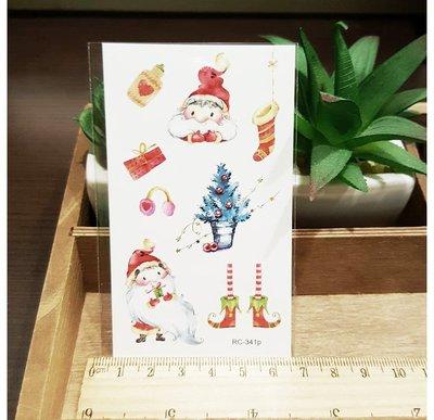 【萌古屋】聖誕節RC-341 - 男女防水紋身貼紙刺青貼紙 K29