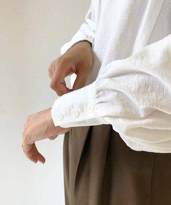  The Dood Life TODAYFUL (トゥデイフル) Peasant Sleeve Bl / 優雅細褶 宮廷袖 簡練設計感 襯衫