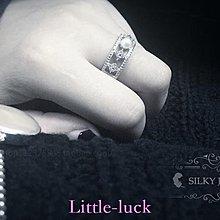 Little-luck~UNI.復古Vintage維多利亞時期珍珠戒指珍珠戒圈復古純銀戒指開口