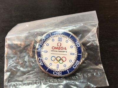 奧運官方指定廠商 OMEGA獨家記念別針pin