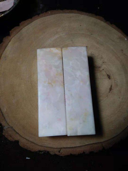 【茶墨相濡】特賣 ☆老巴林石☆山水對印3