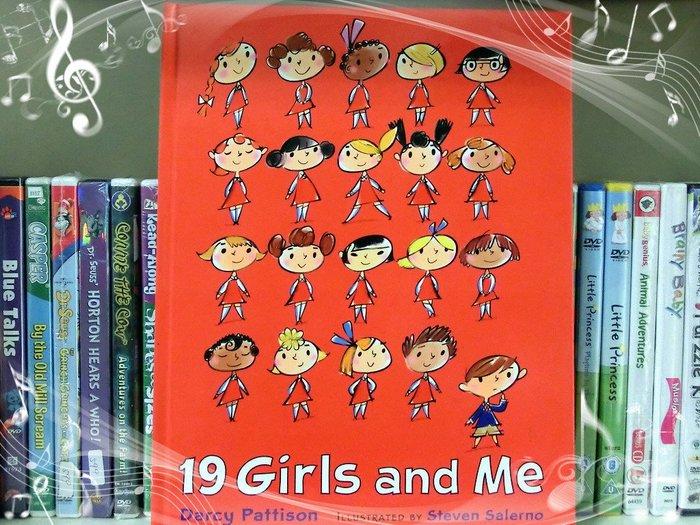 *【兒童英語繪本】*小pen外文童書~~ 圖片亮麗生動有趣繪本 19 Girls and ME