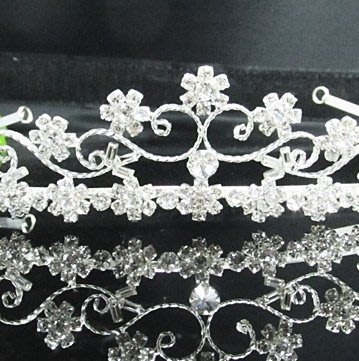 結婚飾物;結婚頭飾;新娘婚禮頭飾;新娘頭飾;婚禮皇冠; BRIDE BAND;BRIDAL HEADPIECE;WEDDING TIARA COMB #7275