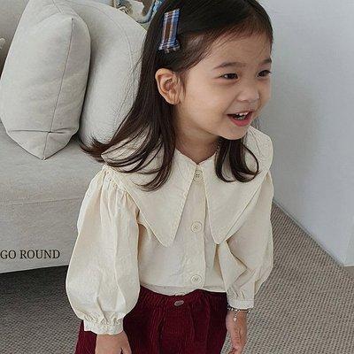 3~13 ♥襯衫(IVORY) MERRY GO ROUND-2 21秋季 MGR210823-074『韓爸有衣韓國童裝』~預購