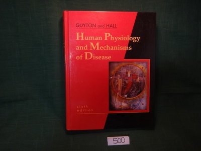 【愛悅二手書坊 08-42】Human Physiology and Mechanisms of Disease