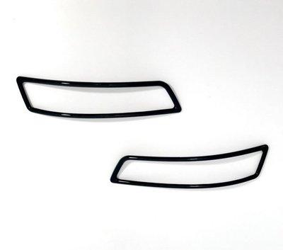 圓夢工廠 Toyota Altis 11代 11.5代 2013~2018 改裝 烤漆黑 後保桿 後反光片 後霧燈框飾貼