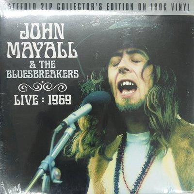 合友唱片 JOHN MAYALL & THE BLUESBREAKERS LIVE :1969 黑膠唱片 LP 面交自取