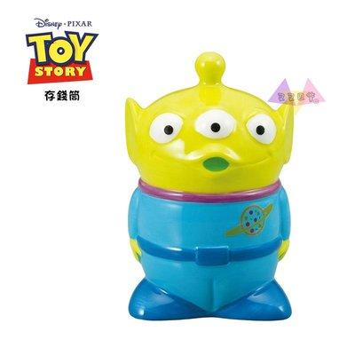 叉叉日貨 迪士尼玩具總動員三眼怪立正站陶瓷公仔存錢筒盒裝  【Di29346】