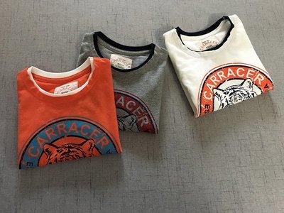 【Mr. Soar】 F374 夏季新款 歐美style童裝男童老虎頭短袖T恤 現貨
