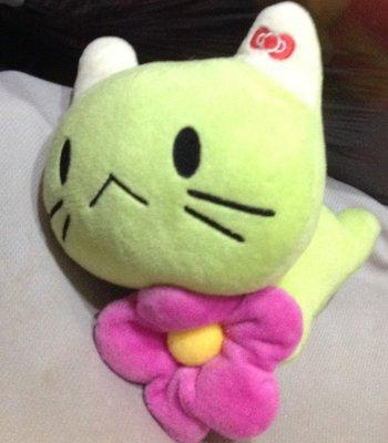 全新趴姿綠kitty