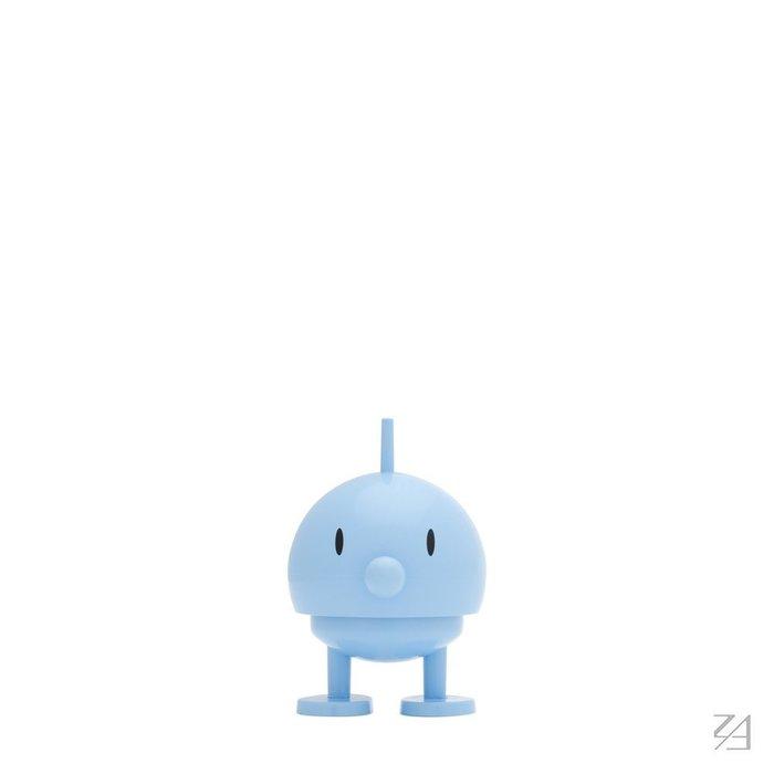 丹麥Hoptimist微笑彈簧小人 Baby Bumble 小邦邦 (水藍色)