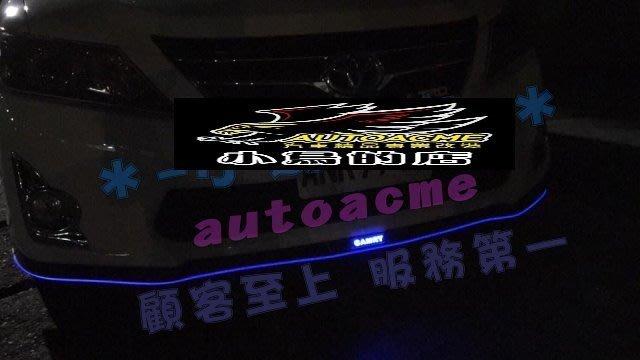 (小鳥的店)豐田 2014-16 ALTIS 11代 X版  軟定風翼 PU材質 太陽能 發光 定風翼 LED 呼吸燈