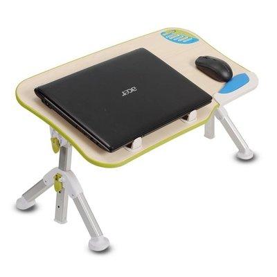 ☜男神閣☞簡約電腦做桌學習的小桌子可折疊筆記本床上用宿舍懶人大學生書桌